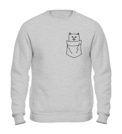 Свитшот Ripndip cat in pocket