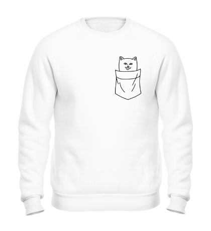 Свитшот Ripndip cat in pocket