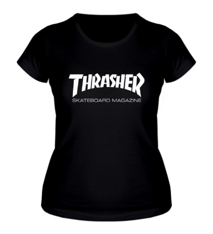 Женская футболка Thrasher Skateboard