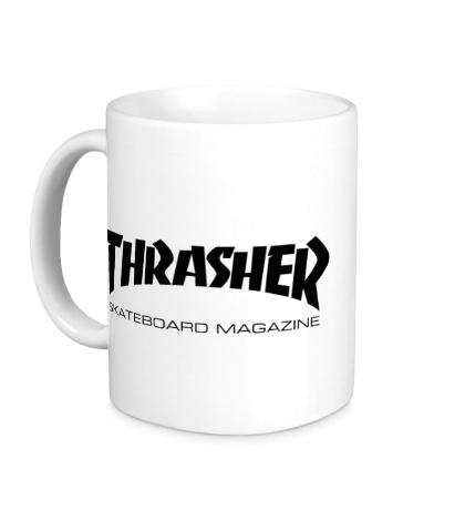 Керамическая кружка Thrasher Skateboard