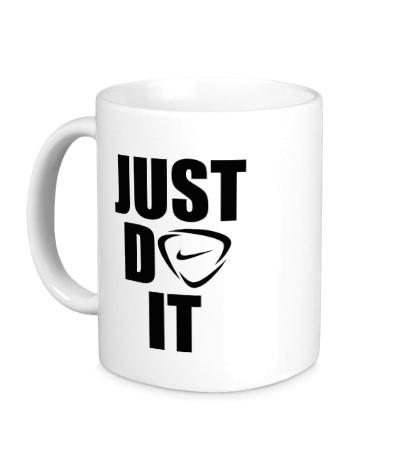 Керамическая кружка Just do it