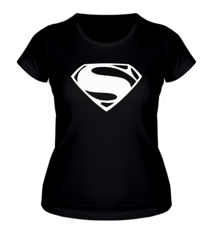 Женская футболка Superman: Mono Logo