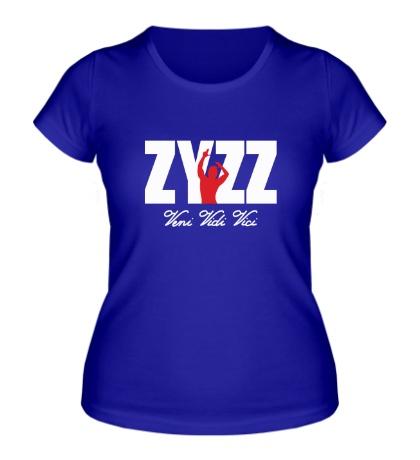 Женская футболка ZYZZ Veni Vidi Vici