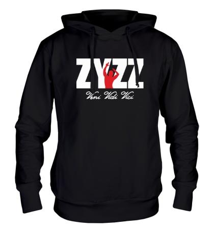 Толстовка с капюшоном ZYZZ Veni Vidi Vici