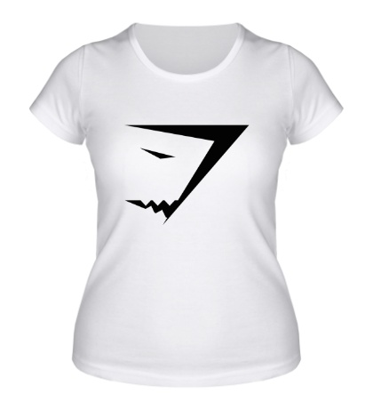 Женская футболка Gymshark logo