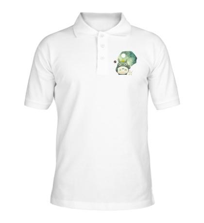 Рубашка поло Тоторо с зонтиком
