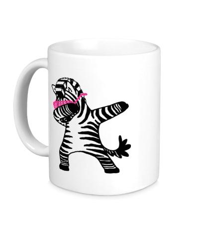Керамическая кружка Zebra Dub