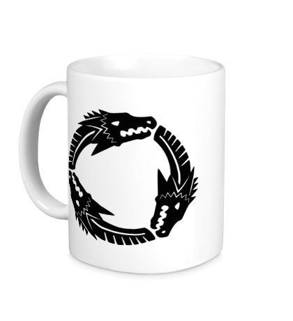 Керамическая кружка Targaryen Mark