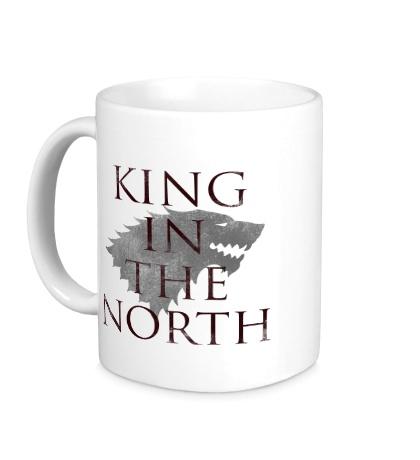 Керамическая кружка King in the North