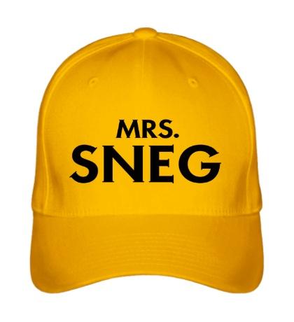 Бейсболка Mrs. Sneg