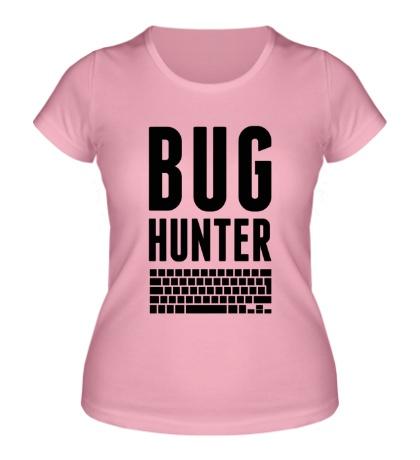 Женская футболка Bug hunter