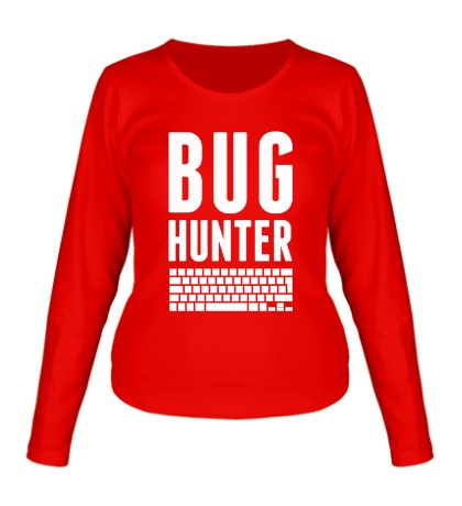 Женский лонгслив Bug hunter