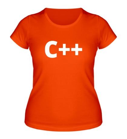 Женская футболка C++
