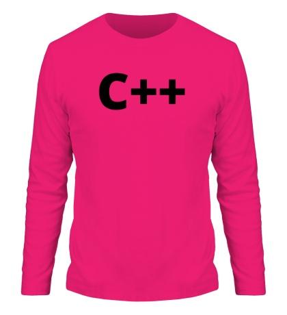 Мужской лонгслив C++