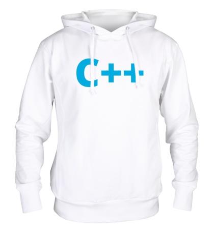 Толстовка с капюшоном C++