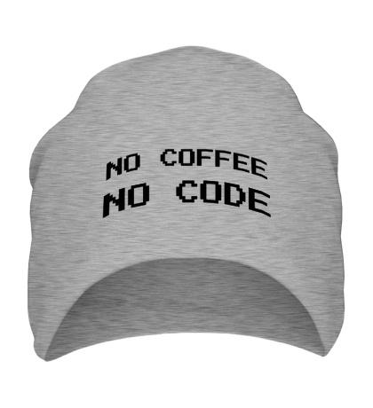 Шапка No Coffe, No Code
