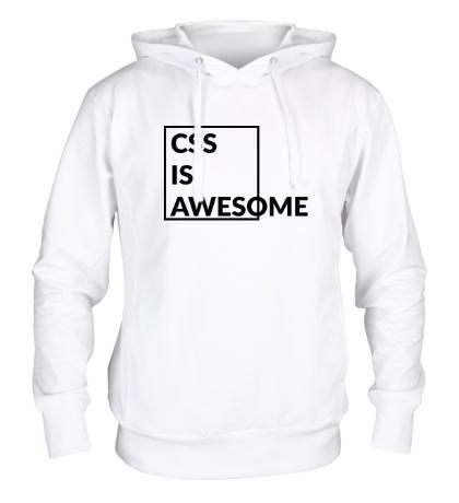 Толстовка с капюшоном CSS is awesome