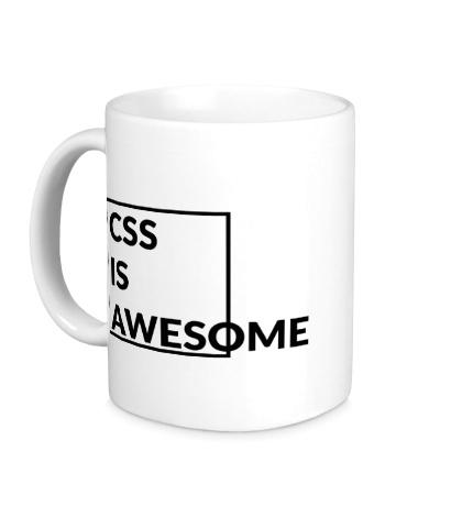 Керамическая кружка CSS is awesome