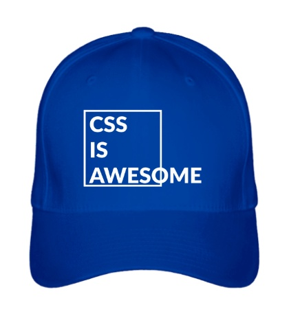 Бейсболка CSS is awesome