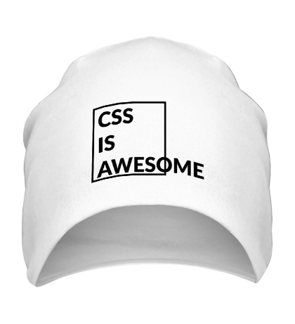 Шапка CSS is awesome