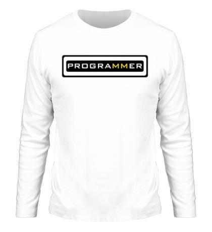 Мужской лонгслив Programmer: Brazzers