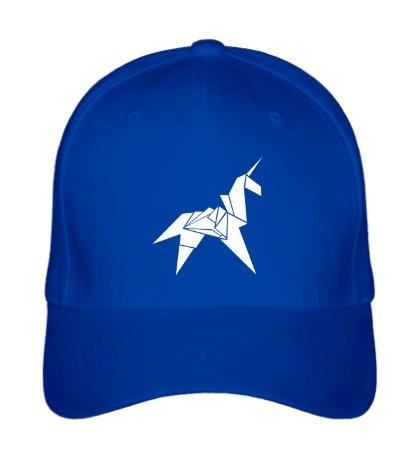 Бейсболка Оригами Единорог