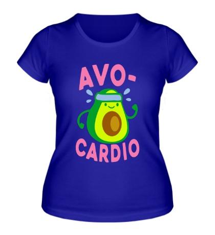 Женская футболка Avo-Cardio