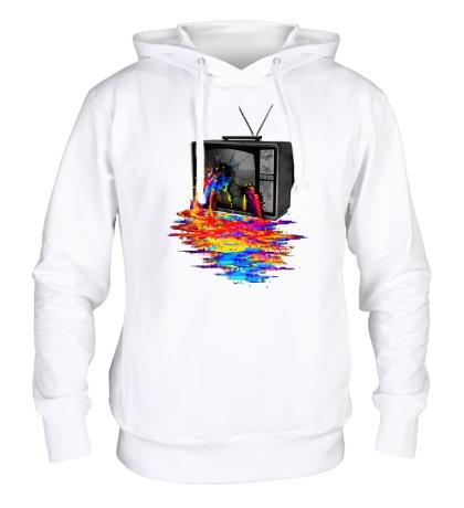 Толстовка с капюшоном Перегрузка пикселей