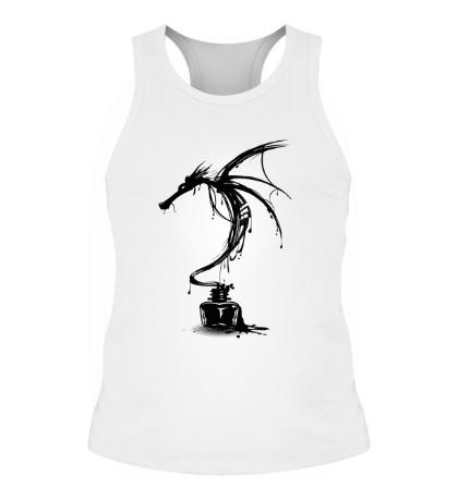 Мужская борцовка Чернильный дракон