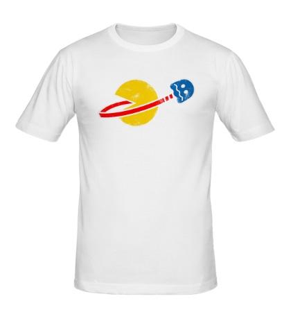 Мужская футболка Space Pacman