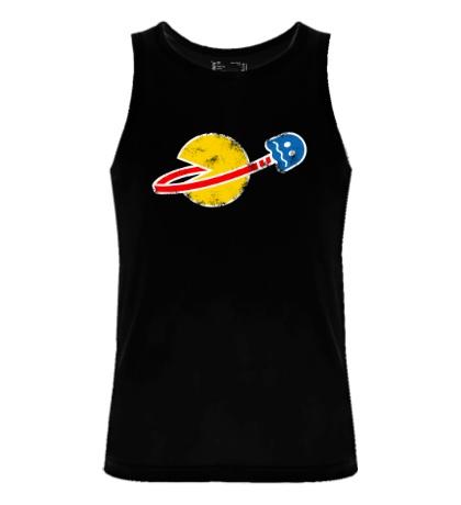 Мужская майка Space Pacman