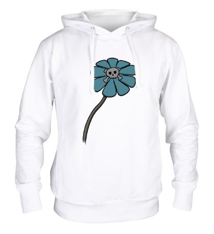 Толстовка с капюшоном Мертвый цветок