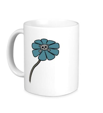 Керамическая кружка Мертвый цветок