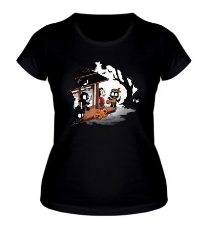 Женская футболка «Halloween Decoy»