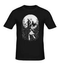 Мужская футболка Halloween Moon