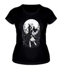 Женская футболка Halloween Moon