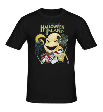 Мужская футболка Halloween Island