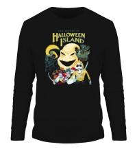 Мужской лонгслив Halloween Island