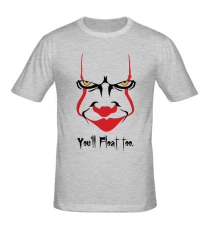 Мужская футболка Clown Face