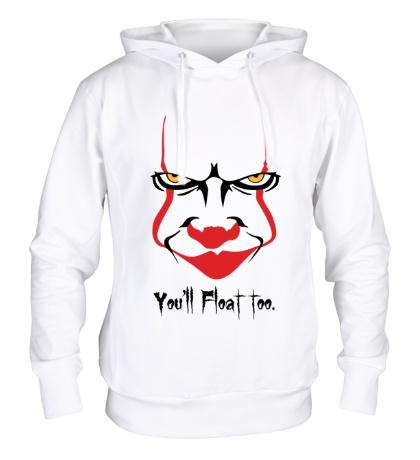 Толстовка с капюшоном Clown Face