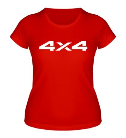 Женская футболка 4x4