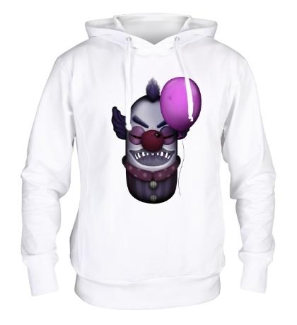 Толстовка с капюшоном Жуткий клоун