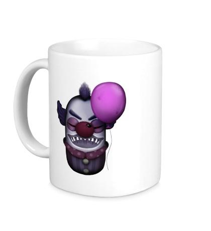Керамическая кружка Жуткий клоун