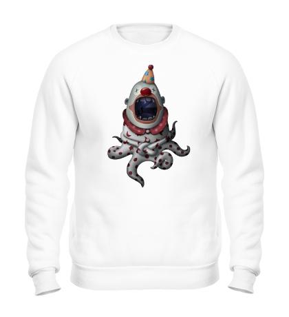 Свитшот Клоун-осьминог