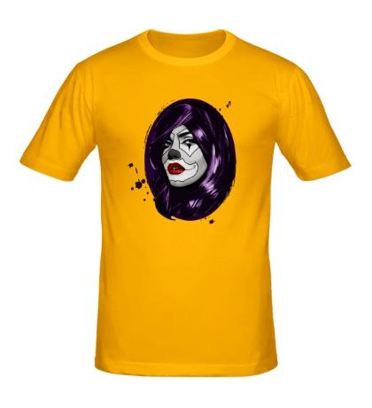 Мужская футболка Мертвая девушка