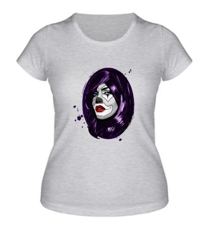 Женская футболка Мертвая девушка