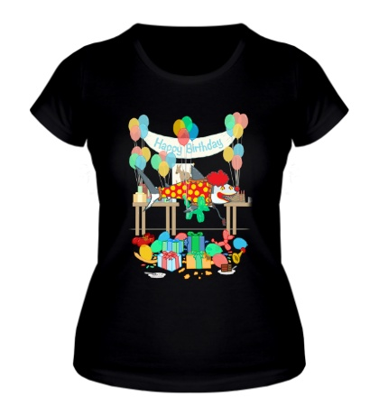 Женская футболка The Birthday Party Clown Shark