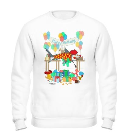 Свитшот The Birthday Party Clown Shark