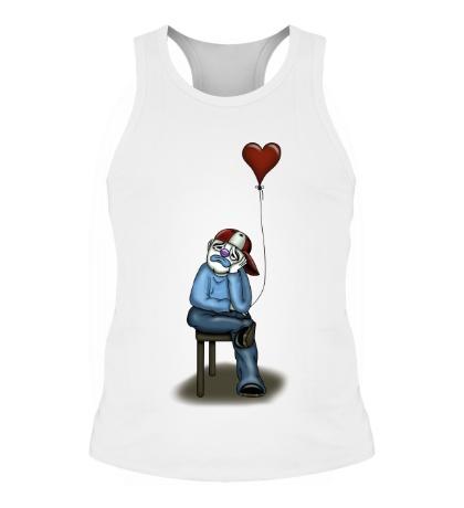 Мужская борцовка Влюблённый клоун