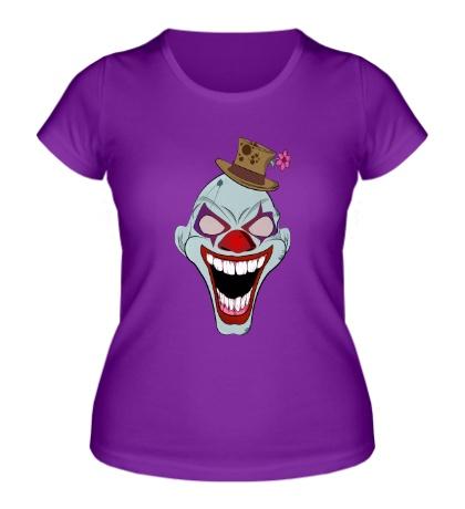 Женская футболка Сумасшедший клоун